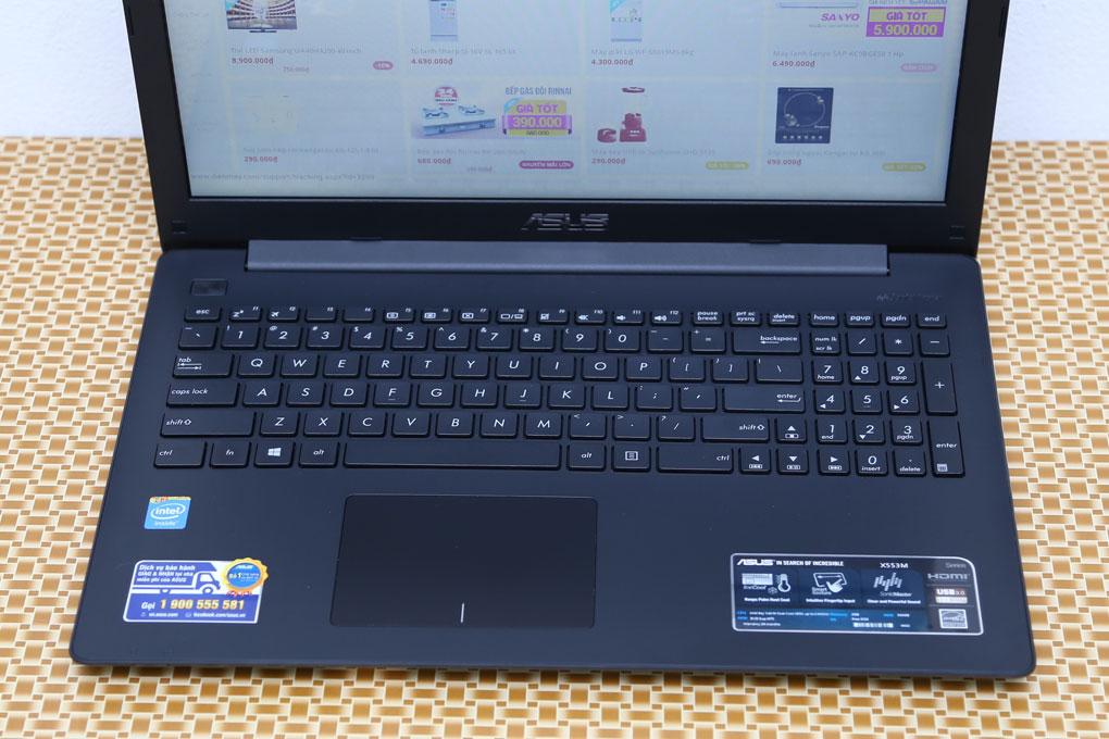 sus X553MA-XX138D (Intel Celeron N2830 2.16GHz, 2GB RAM, 500GB HDD, VGA Intel HD Graphics, 15.6 inch, Free DOS)