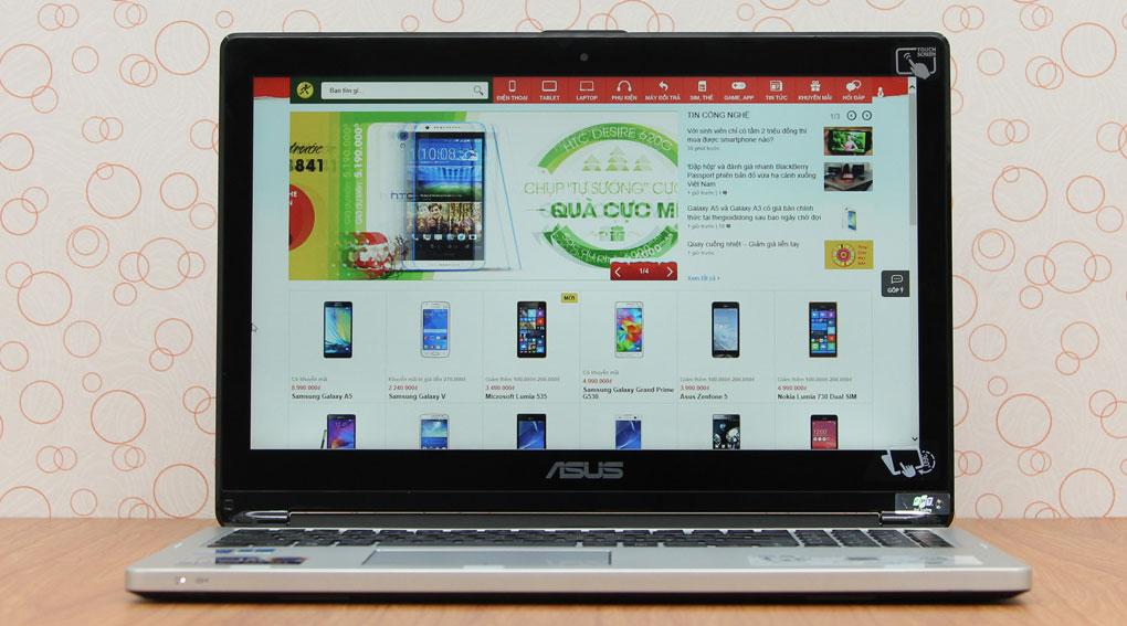 ASUS TP500LA Core i3 – 4030U/RAM 4G/ HDD 500G/ Touchscreen/ Rotate 360
