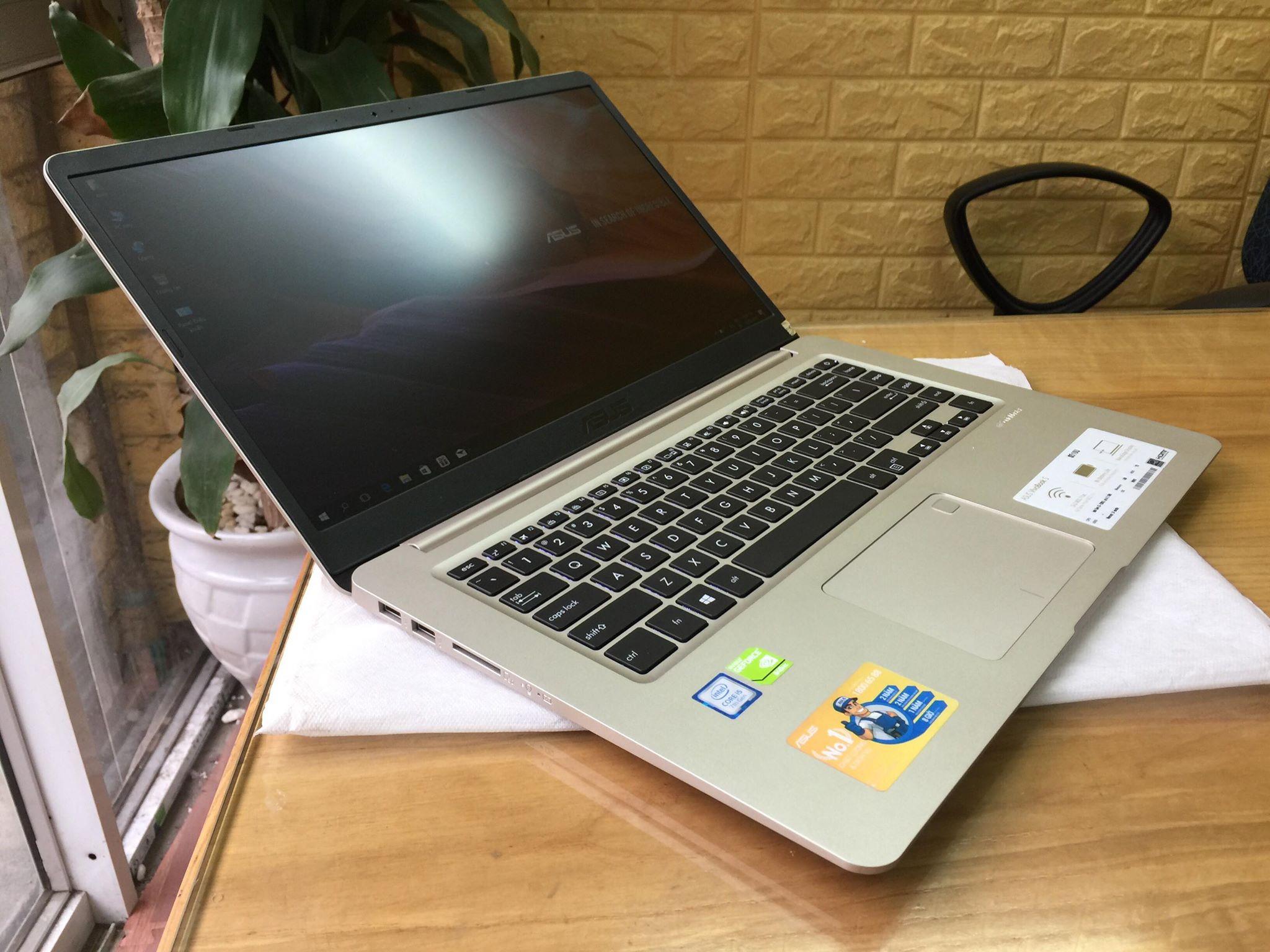 Asus VivoBook S15 S510UQ-BQ321TS (Finger) | i5-7200U | 4GB DDR4 | 120GB SSD + 1TB HDD