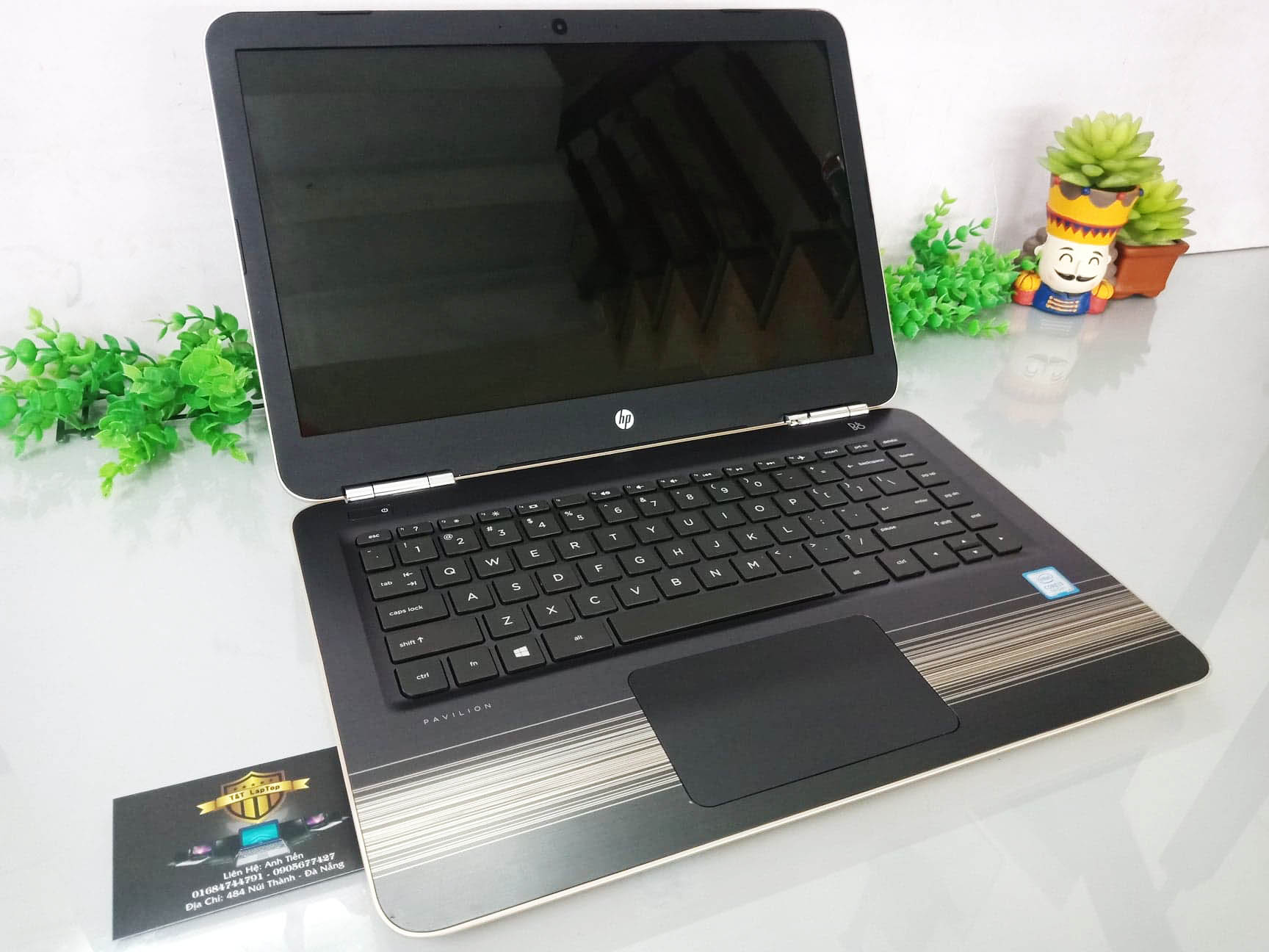HP PAVILION 14 – AL115TU/ Core i3 – 7100U/ RAM 4GB / HDD 500GB/ 14inch/ Màu Gold/ BH 12 Tháng