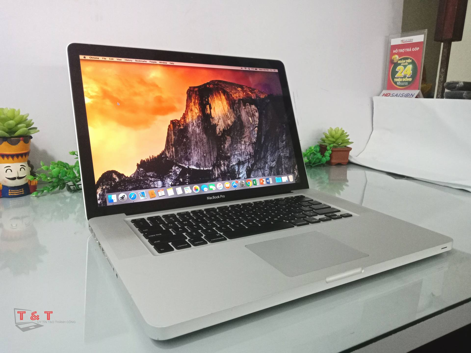 Apple Macbook Pro 15 Mid 2010/ Core i5 / RAM 4G/ SSD 128G/ ~2.53GHz/ BH 12 Tháng