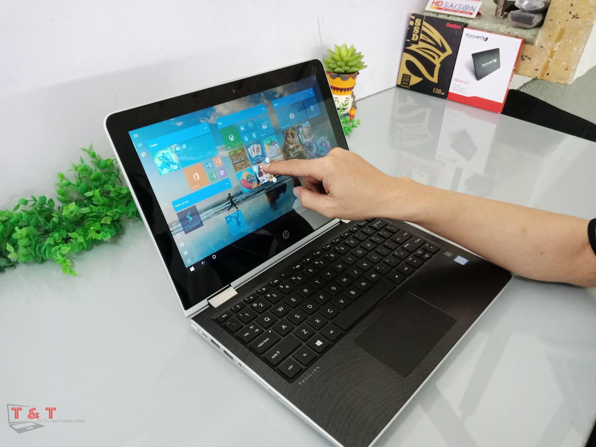HP Pavilion 11 – ad032TU Core i3-7100U/ RAM 4G/ HDD 500G/ Cảm Ứng Đa Điểm, Xoay Gập 360º