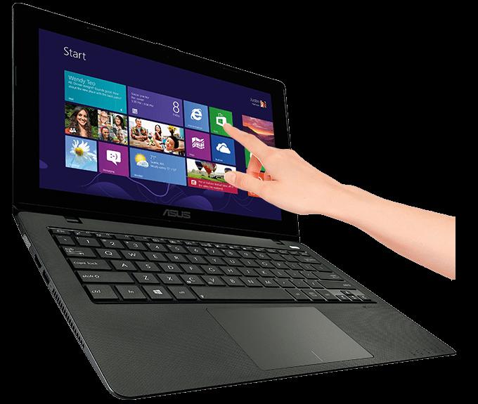 ASUS Vivobook X200MA/ Celeron N2815/ RAM 4G/ HDD 500G/ 11.6 inch/ Touchscreen